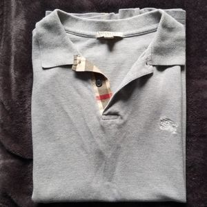 Burberry Men's Polo Shirt Medium
